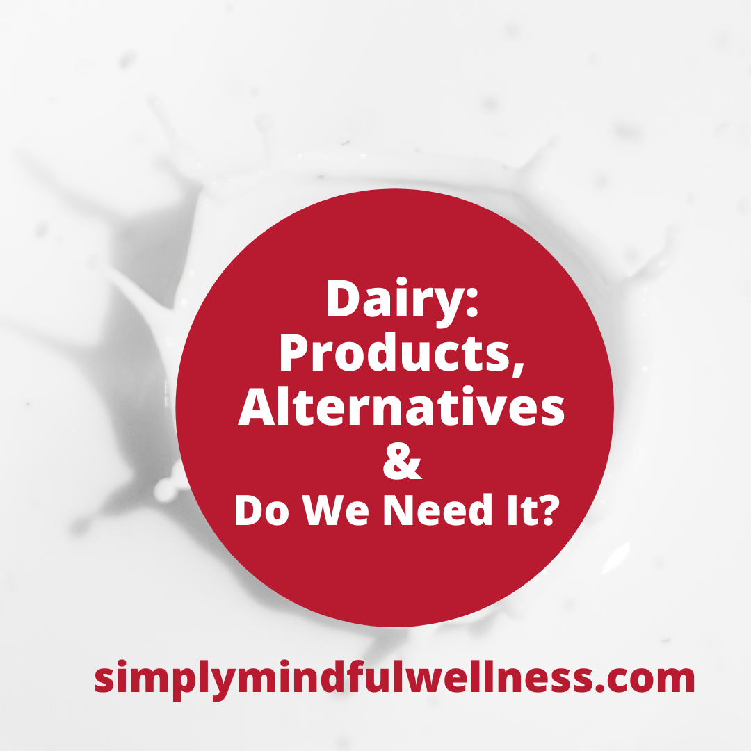 Dairy Products, Alternatives and Do You Really Need It?
